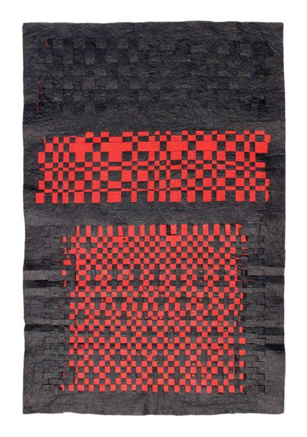 Black-Red Unryu Stack (Back) -  2