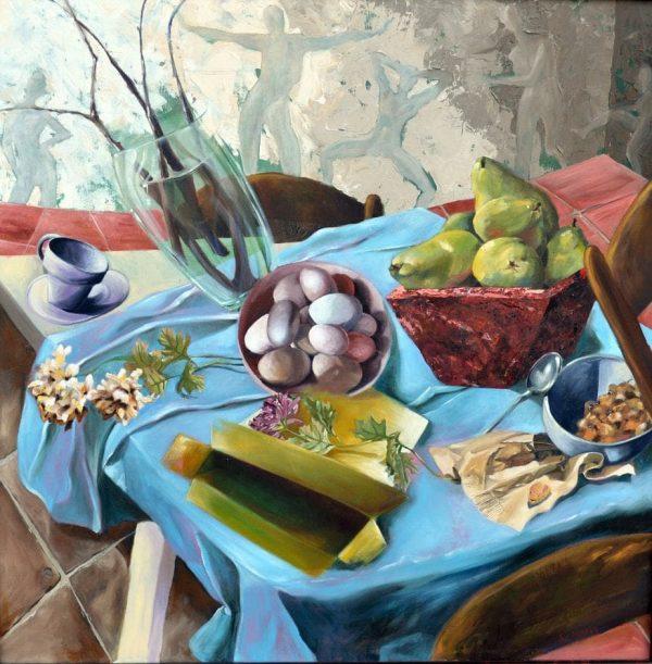 Unbalanced Breakfast By Andrea Bogart -  1
