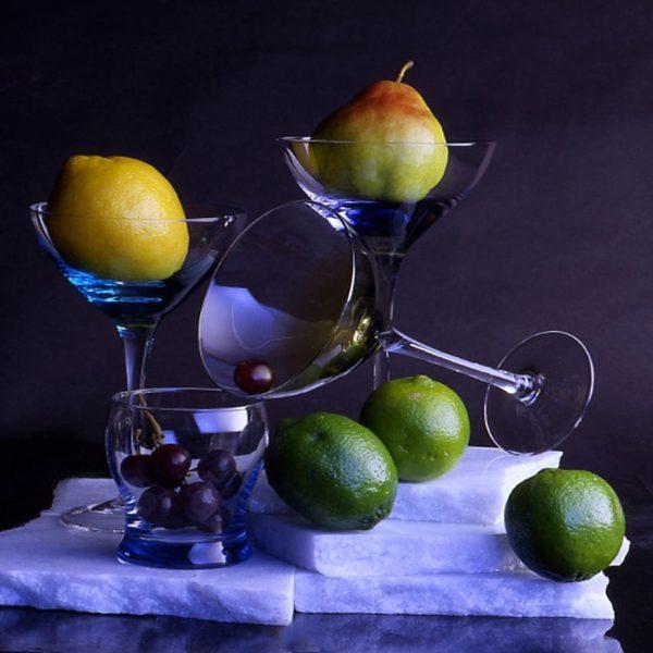 Scherf_Still Life Of Fruit Goblet -  1