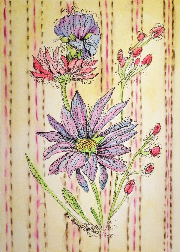 Wall-flowers-iii-floral-watercolor