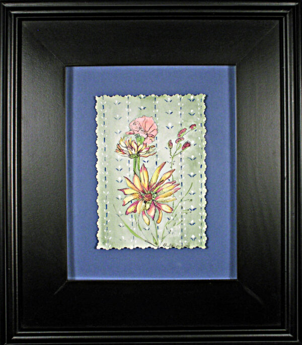 Wall-flowers-v-floral-watercolor-framed