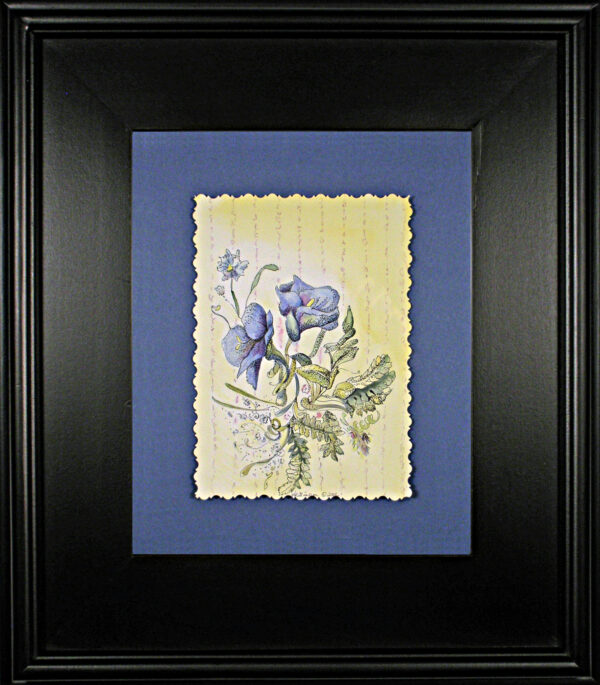 Wall-flowers-vi-floral-watercolor-framed