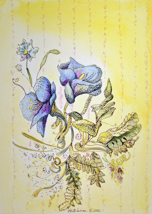 Wall-flowers-vi-floral-watercolor
