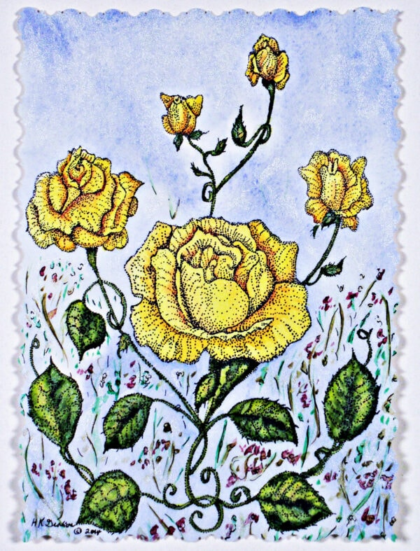 Victorian-yellow-roses-garden-floral-detail