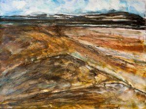 Mojave vista painting