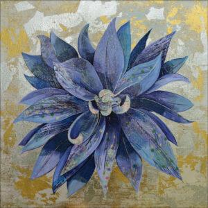 Blue Dahlia by Shadia