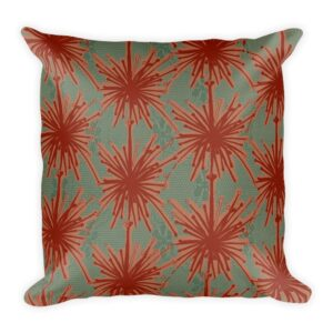 Frida Kahlo inspired throw pillow